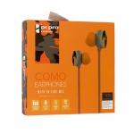 Sluchátka Como M8 oranžová 48839