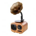 Reproduktor Multimediální Bluetooth Rádio - B7 světle Hnědá