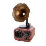 Reproduktor Multimediální Bluetooth Rádio - B7 tmavě hnědá
