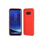 Pouzdro Soft Feeling Mercury Samsung A600 GALAXY A6 2018 červená