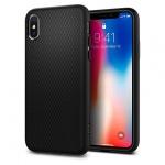 Pouzdro SPIGEN - Liquid Air Iphone X - Matná Černá 50398