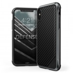 Pouzdro X-DORIA Defense Lux pro Iphone X - Carbon Black 50899