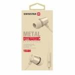 sluchátka Swissten YS500 zlatá 51107003