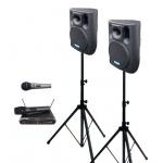 2× BC 800A + MBD 830 + MD 505 ozvučovací sestava s mikrofony