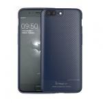 Pouzdro Ipaky Carbon Samsung G960 Galaxy S9 modrá 52631