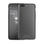 Pouzdro Ipaky Carbon Samsung G965 Galaxy S9 Plus šedá 52641