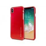 "Pouzdro i-jelly metal Mercury IPHONE XR (6.1"") červená"