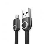 REMAX USB datový Kabel - Lemen RC-101i - Iphone 5/SE/6/6S/7/8/X Lightning Černý