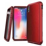 """Pouzdro X-DORIA Defense Lux 4C0503B Iphone XS MAX (6,5"""") - kožená červená"""