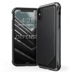 """Pouzdro X-DORIA Defense Lux 3C0552B Iphone XR (6,1"""") - Kožený Černý"""