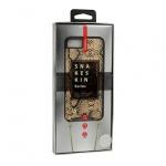 KABELKA - Snake Kožené Pouzdro - IPHONE X/XS zlatá 53954
