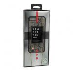 KABELKA - Snake Kožené Pouzdro - IPHONE X/XS šedá 53956