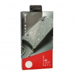 KABELKY - SHiny Pouzdro - IPHONE X/XS Stříbrný 53969