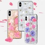 """Pouzdro X-DORIA Bloom 3C1713B Iphone XR (6,1"""") - Stříbrno-Fialová"""