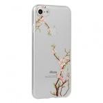 Telone Flora pouzdro Silikon Iphone XS MAX Cherry 54163