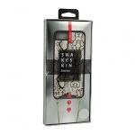 KABELKA - Snake Kožené Pouzdro - IPHONE XS MAX bílá 54225