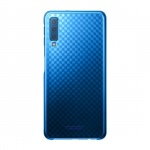 Originální pouzdro - Samsung A7 2018 Galaxy A750 - Gradace Cover (ef-aa750cle) MODRÁ