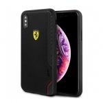 Pouzdro originál FERRARI - Hard Case On Track Grid FESITHCI65BK - Iphone XS MAX černá