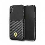 Pouzdro originál FERRARI - Hard Case FESPAHCPXBK - Iphone X / XS černá