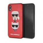 """Pouzdro originál KARL LAGERFELD - Karl&Choupette; Hard Case KLHCI65KICKCRE - Iphone XS Max (6,5"""") červená"""