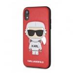 "Pouzdro originál KARL LAGERFELD - Karl Space Cosmonaut Hard Case KLHCPXKSCORE - Iphone X/XS (6,1"") červená"