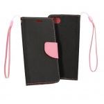 Pouzdro Telone Fancy - Xiaomi Mi 8 Lite černá-růžová 55545