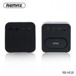 KOMPAKTNÍ Bezdrátový Reproduktor Bluetooth Fabric RB-M18 - černá