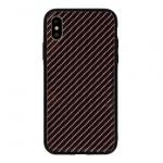 Pouzdro Carbon Glass Case - Xiaomi Mi 8 Lite tmavě šedá 55884