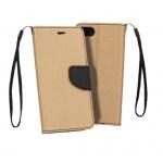 Pouzdro Telone Fancy - Xiaomi Redmi Go zlatá-černá 56635