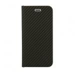 Pouzdro Vennus Book CARBON s kovovým rámem Samsung G970 Galaxy S10E černá 56878