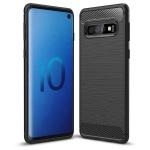 Pouzdro Forcell CARBON Case Samsung GALAXY A40 černá 58552246