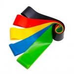 Guma na cvičení ST1 (5ks v balení - různé obtížnosti) různé barvy 5900217390398
