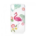 Pouzdro Forcell Summer FLAMINGO Samsung A600 GALAXY A6 (2018) transparentní 737909705