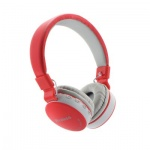 Headphones Bluetooth stereo MS-881 red
