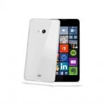 Tpu pouzdro CELLY Gelskin pro Nokia Lumia 535 Transparentní 78070