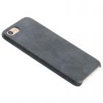 Tpu ochranný kryt USAMS Bob series s koženým povrchem pro Apple iPhone 7 hnědá 78088