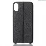 Kryt USAMS Joe kožený ochranný kryt pro Apple iPhone 8 černá 78089