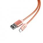 Datový kabel 1.0 m Type-C růžová, 57160