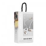Sluchátka Bluetooth sport stereo eaphones F1 zlatá
