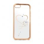 Pouzdro Beeyo Heart Huawei P9 lite zlatá