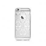 Pouzdro Crystal (Swarovski) Baroque iPhone 6/6S silver