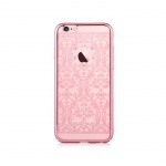 Pouzdro Crystal (Swarovski) Baroque iPhone 6/6S rose gold