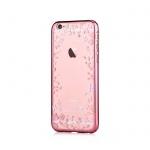 Pouzdro Crystal (Swarovski) Spring iPhone 6/6S rose gold