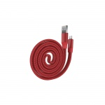 Kabel DEVIA Ring Y1 lighting Apple red 0,8m 005408