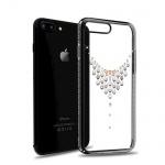 Pouzdro Crystal (Swarovski) KINGXBAR iPhone 7/8 Starry Sky Dew piano černá