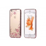 Pouzdro Forcell DIAMOND Nokia 3 rose gold 0665