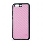 Pouzdro Beeyo Carbon Huawei P10 Lite růžová