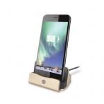 Nabíječka stolní micro USB FOREVER DS-01 zlatá
