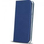 Pouzdro Magnet Carbon Book Huawei P10 Lite tmavě modrá