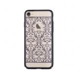 Pouzdro Crystal (Swarovski) Baroque iPhone 7 gun black
